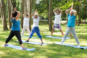 senior fitness exercise yoga